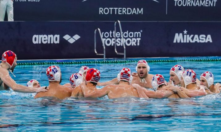 Water polo: Croatia beats Russia to qualify for Olympic Games