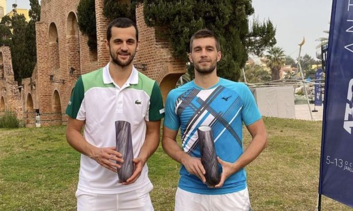 Croatia's Mektić and Pavić win third ATP title