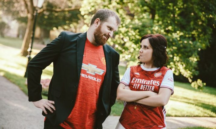 Meet one of Arsenal's biggest fans in Croatia and her Man U-loving husband