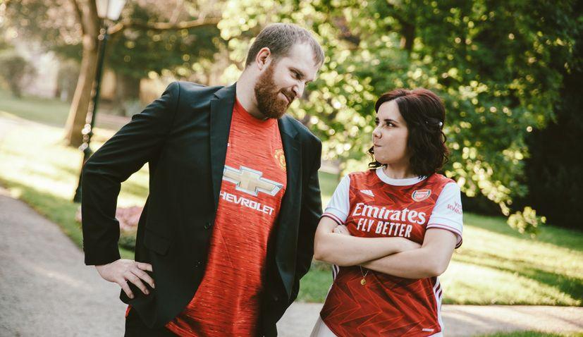 Meet one of Arsenal's biggest fans in Croatia and her Man U-loving husband