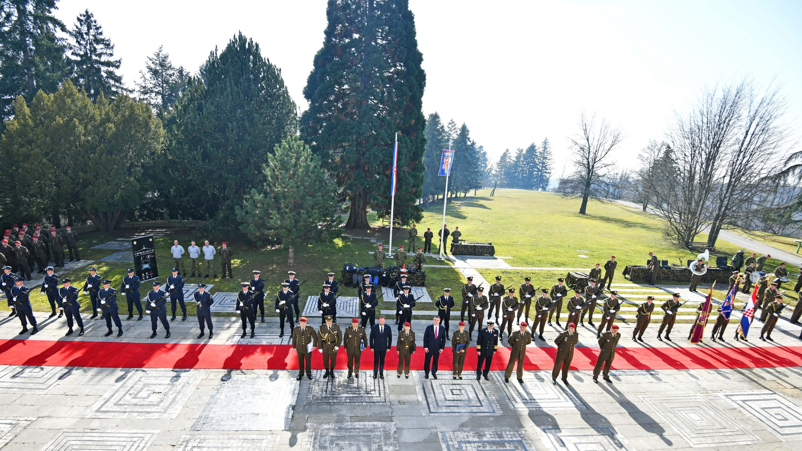 27th anniversary of Croatia's Honorary Protection Battalion marked 2