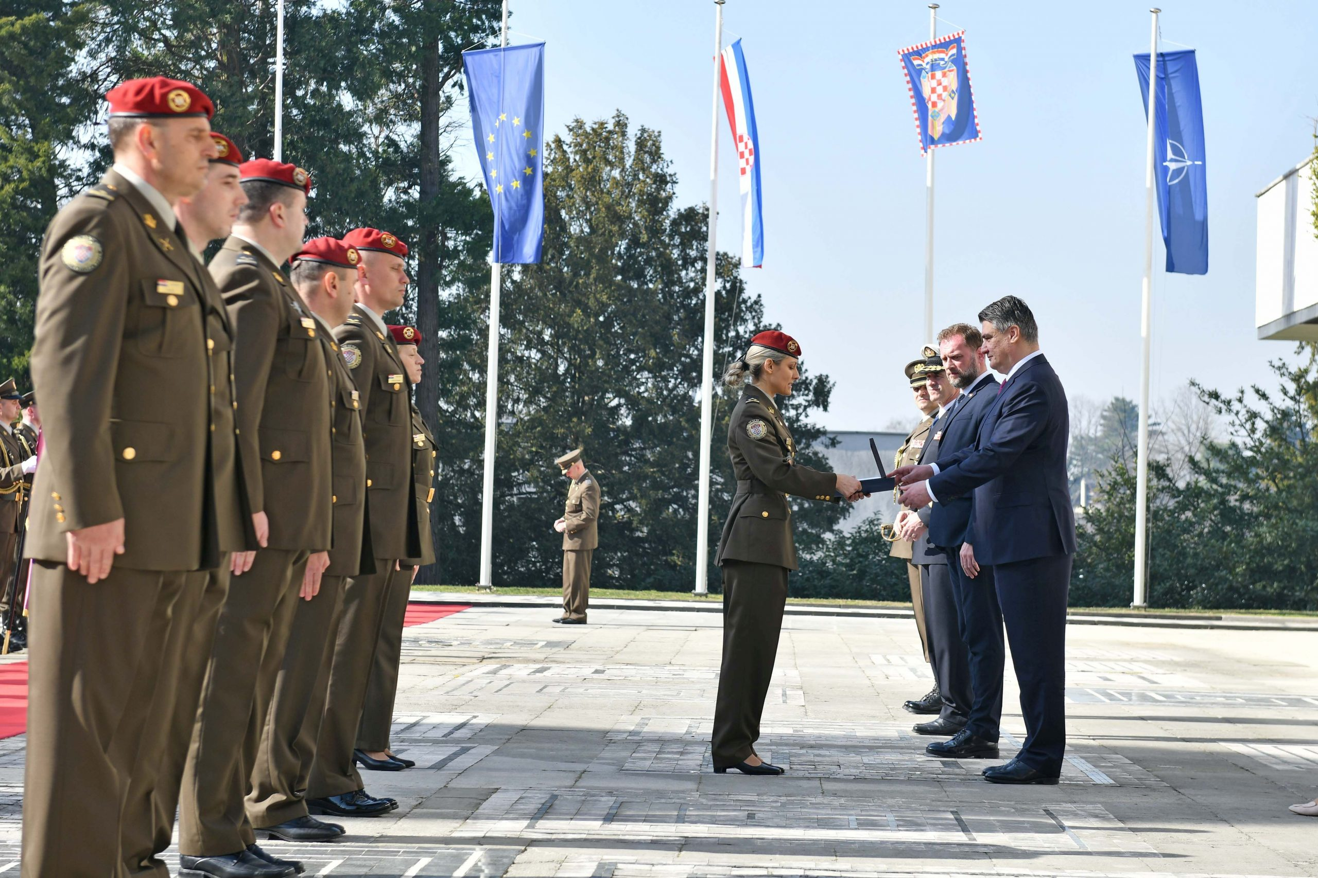 27th anniversary of Croatia's Honorary Protection Battalion marked 2