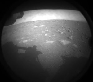 Residents of Jezero, Bosnia applaud landing of NASA rover at Jezero Crater on Mars