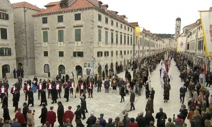 Dubrovnik celebrates 1,049th anniversary of its Patron Saint