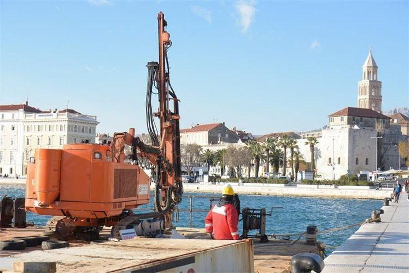 Reconstruction work on Split's East Coast starts