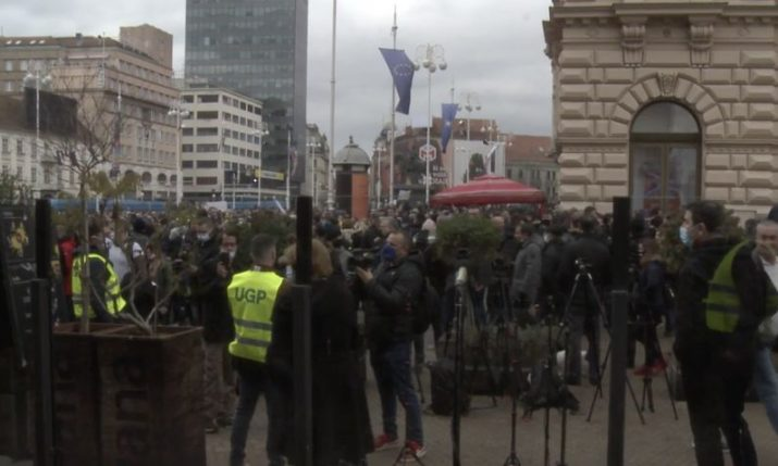 Zagreb: Protesters demand subsidies, no extra taxes and resignation of economy minister