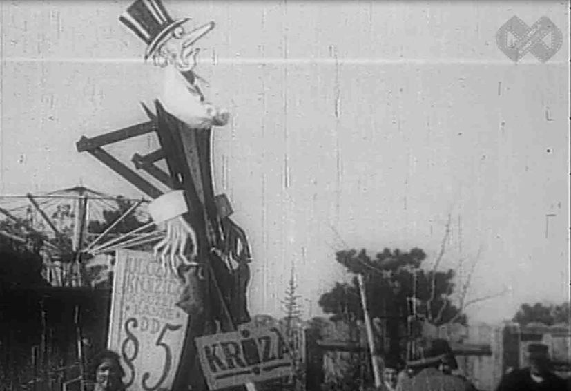 VIDEO: Under the Masks - Carnivals in Croatia 100 years ago
