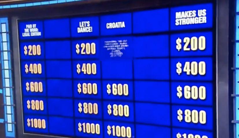 croatia on Jeopardy