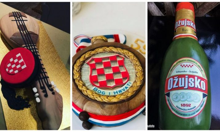 PHOTOS: Amazing Croatian-themed realistic cakes
