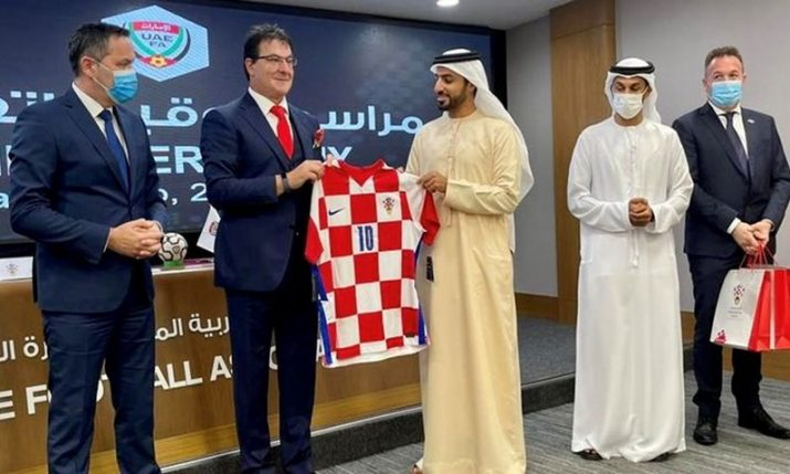 Croatian Football Federation and United Arab Emirates Football Association sign cooperation agreement