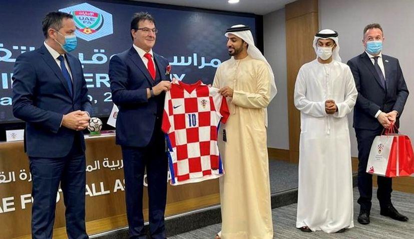 Croatian Football Federation and United Arab Emirates Football Association sign cooperation agreement