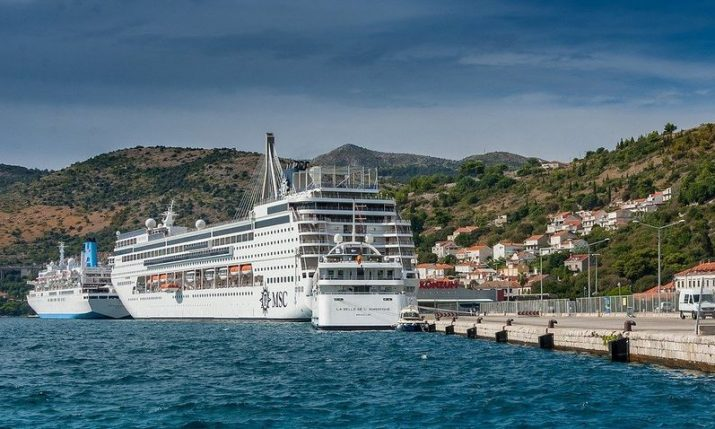 Foreign cruise ships all but disappeared from Croatian coast in 2020