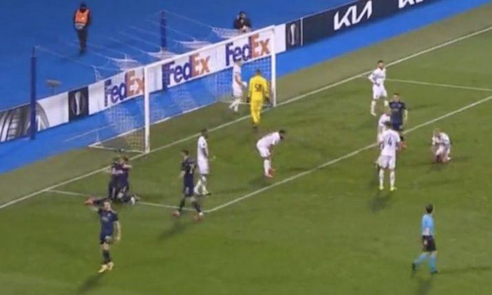 Dinamo Zagreb reach last 16 of UEFA Europa League