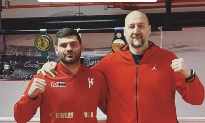 Croatian basketball great visits Filip Hrgović: 'Prep for Tyson Fury has begun'