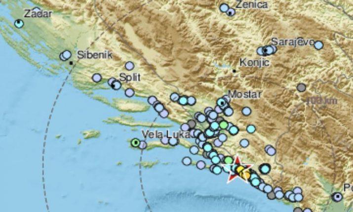 Magnitude 4.1 earthquake strikes 20km from Dubrovnik