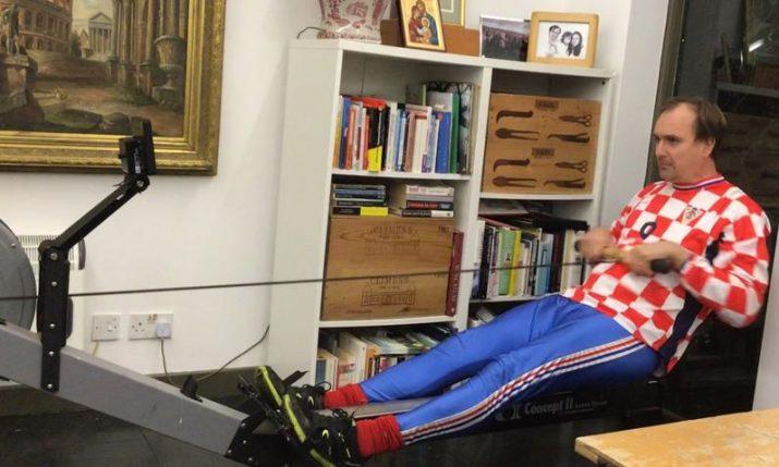 Trsat to Split fundraising rowathon a success