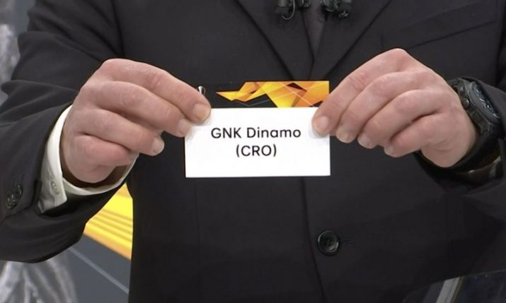 Dinamo Zagreb learn UEFA Champions League first round qualifying opponents