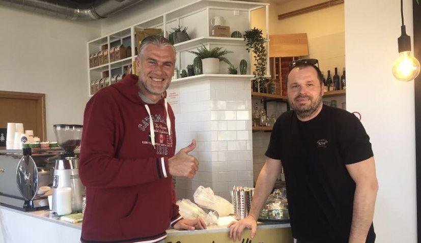 Australian-Croatian World Cup stars Viduka and Kalac reunite in Zagreb