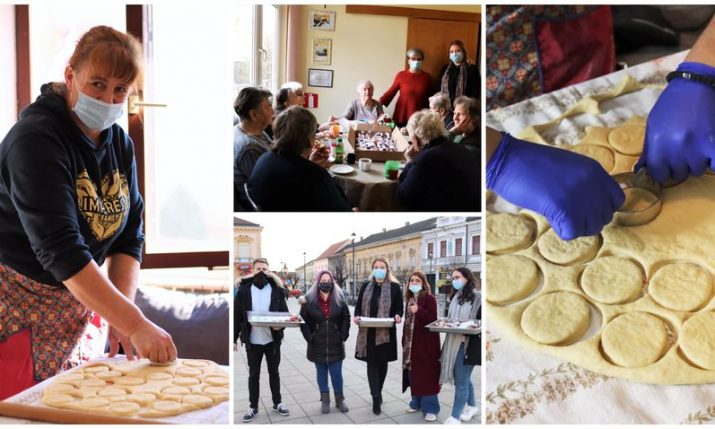300 krafne cheer up elderly in Croatian town of Daruvar on Shrove Tuesday