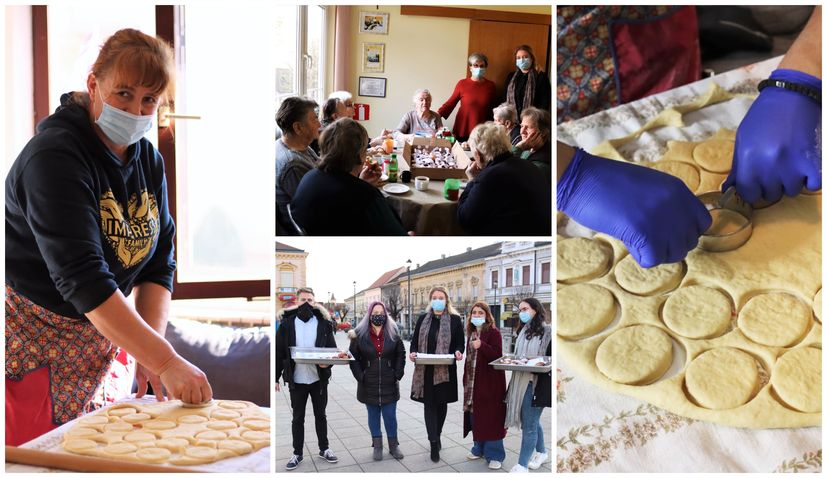 300 krafne cheer up elderly in Croatian town of Daruvar on Shrove Tuesday