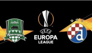Dinamo Zagreb v Krasnodar UEFA Europa League knockout