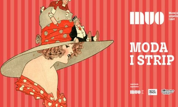 """Fashion and comics"" exhibition opens at Zagreb's Museum of Arts and Crafts"