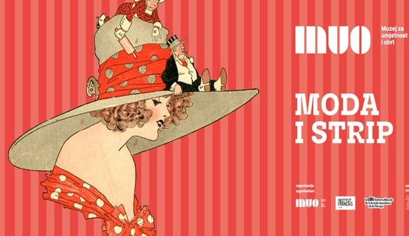 """""""Fashion and comics"""" exhibition opens at Zagreb's Museum of Arts and Crafts"""