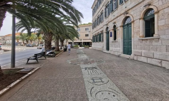 World's longest mosaic path project continues in Vela Luka on Korčula island