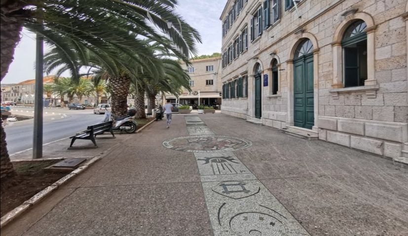 World's longest mosaic path project continues in Vela Luka on Korčula island