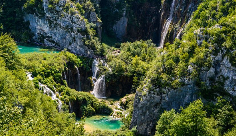 Plitvice Lakes voted third best national park in Europe
