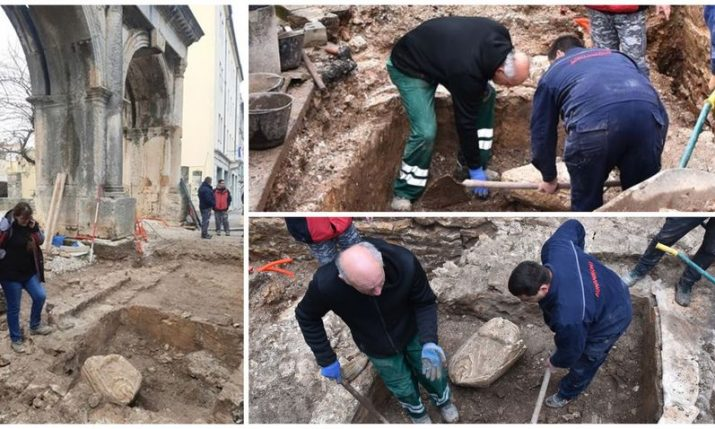 PHOTOS: 2,000 year-old stone male torso excavated in Pula