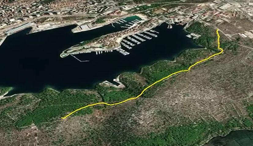 """Šibenik to get biking-hiking trail """"Naš mir"""""""