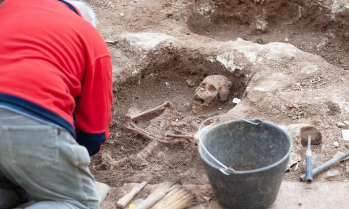 Over 600 skulls found in Šibenik by archaeologists