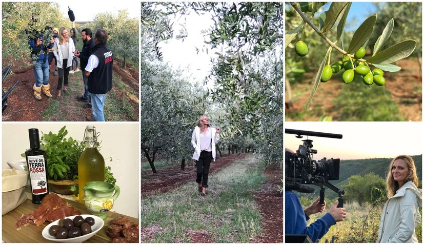 Pioneer Croatian organic olive oil producers feature in US TV series The Global Farm