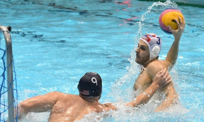 Croatia and USA play first of two water polo matches