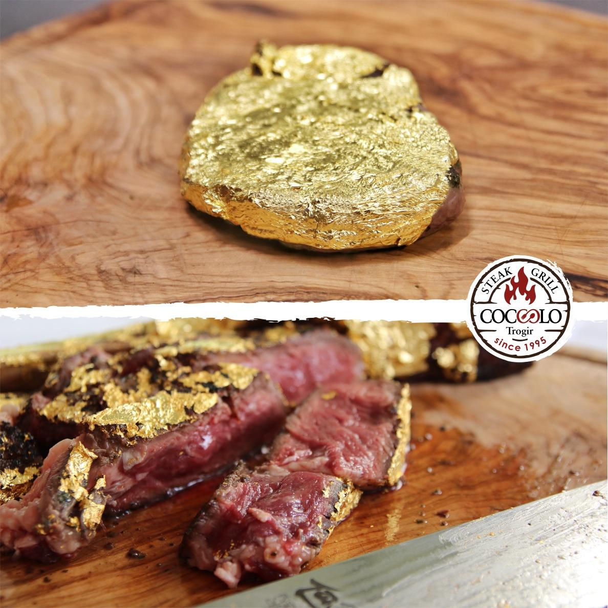 Popular Trogir restaurant first in Croatia to serve up gold steak