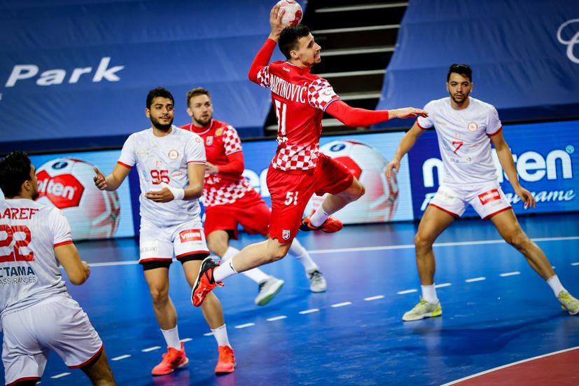 Rokomet: Hrvaška je premagala Tunizijo, da bi ohranila olimpijske nade