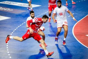 Handball: Croatia beats Tunisia to keep Olympic hopes alive