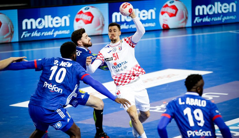 croatia beats france handball Olympic Games qualifier