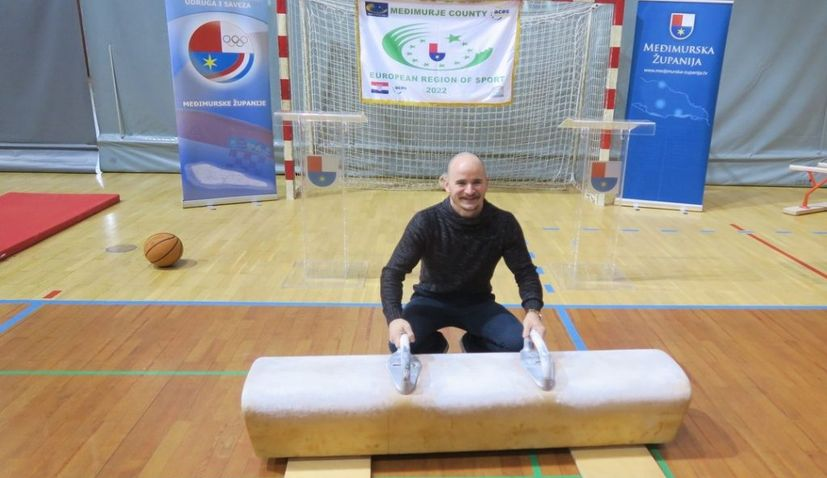 Filip Ude first ambassador of Međimurje as European Region of Sport