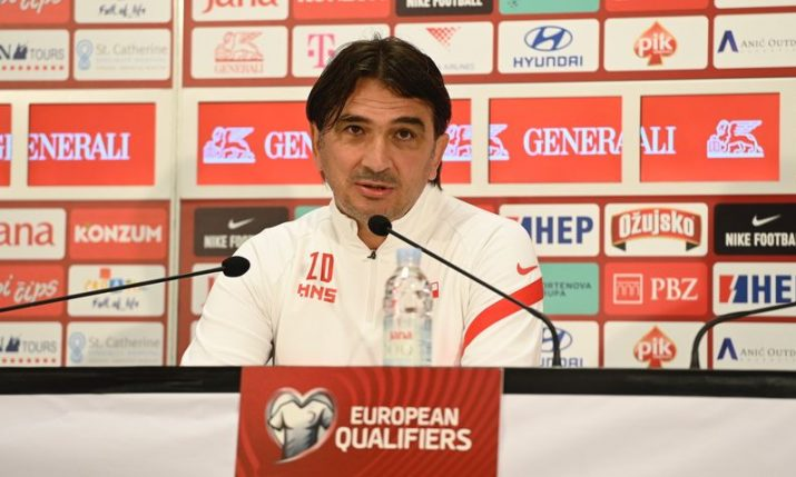 Dalić announces changes for Croatia ahead of Malta qualifier