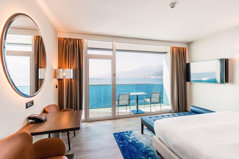 Hilton Rijeka Costabella Beach Resort _ Spa - King Room