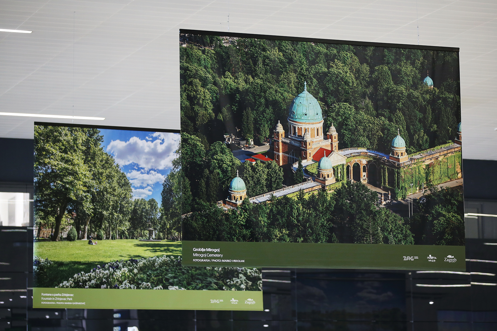 'Zagreb Loves Green' exhibiton opens at Franjo Tuđman Airport
