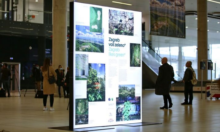 'Zagreb loves green' exhibition opens at Franjo Tuđman Airport