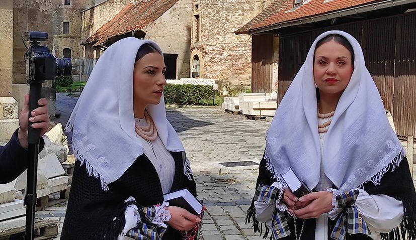 Folklore ensemble LADO record Lent video dedicated to Zagreb