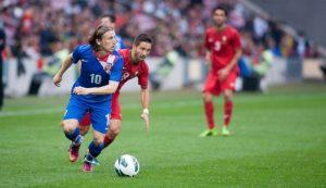 Luka modric croatia debut