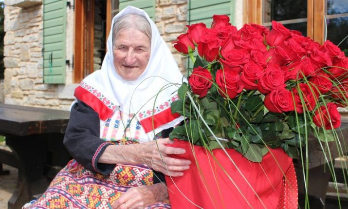 Meet Croatia's oldest entrepreneur 100 year-old Baka Peka