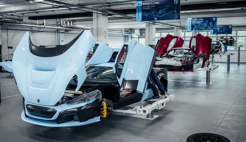 Porsche invest a further €70 million in Croatia's Rimac Automobili