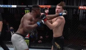 Stipe Miocic loses heavyweight title to Francis Ngannou