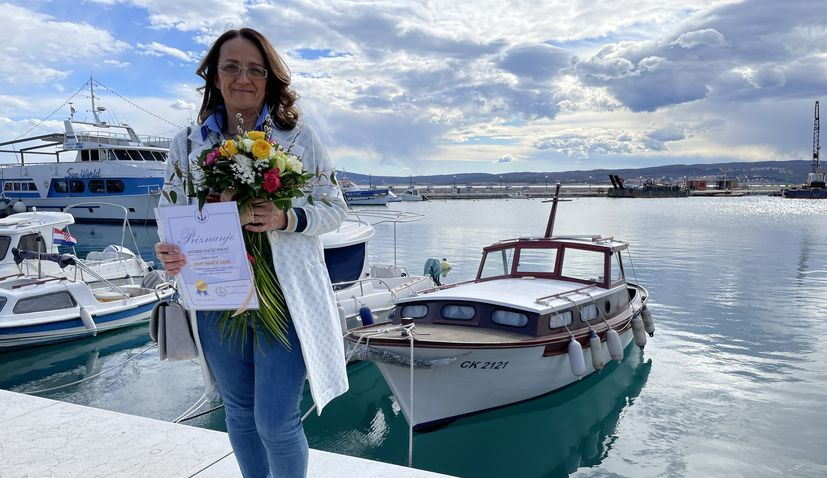The most beautiful wooden boat in Crikvenica awarded
